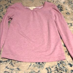 Matilda Jane girls pink long sleeve shirt